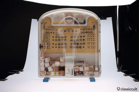 Osram Bilux Bulb Box VW Porsche Dealer selling cabinet