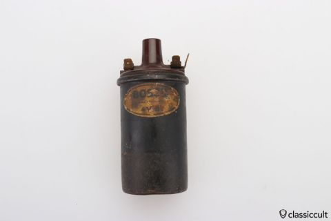 VW Bug 6V ignition coil # 111905105 M