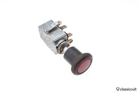 Emergency flasher switch VW 111953235F/G