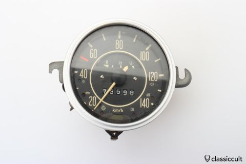 1970 VW Bug Speedometer 113957021K
