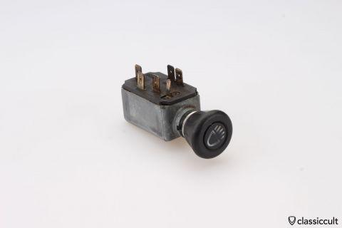 VW T2 Bus Headlight switch 211941531c