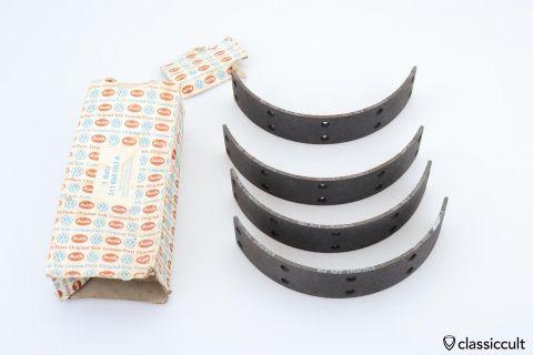 VW 311698093A brake lining shoe kit NOS