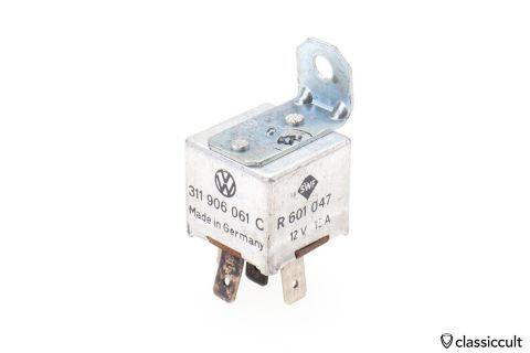 VW # 311906061C SWF R601047 Relay 12V 13A Germany