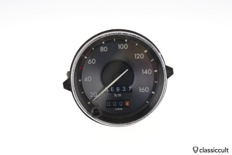 VW Type 3 VDO Speedo 311957031C 1971