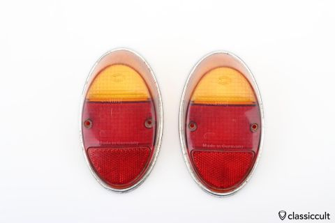 VW Bug 1962-67 Hella taillight lens set