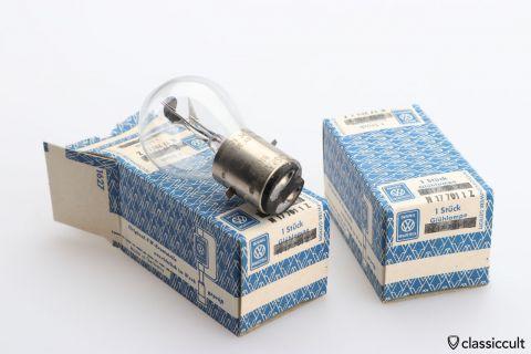 Original VW 6V 35W Light Bulb NOS