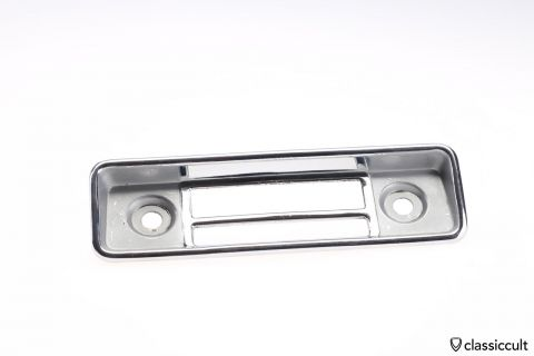 VW Beetle Blaupunkt radio faceplate