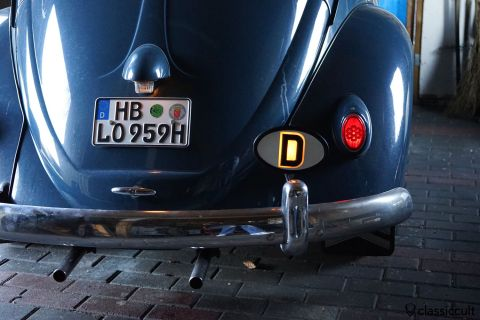 Rare German illuminated D-sign badge