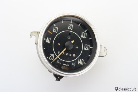 VW Bug Speedometer 11/1970 # 111957021L