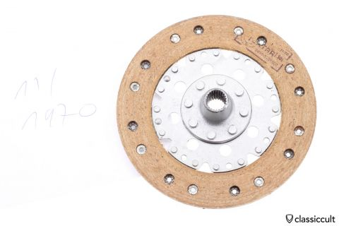 VW Clutch Disc 200mm Fichtel Sachs 1970