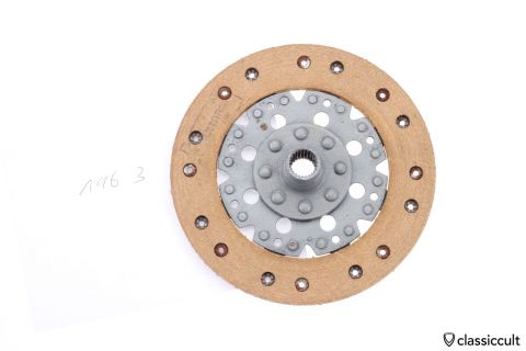 VW Clutch Disc 200mm Fichtel Sachs 1963