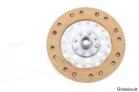 VW Clutch Disc 200mm Fichtel Sachs 1968