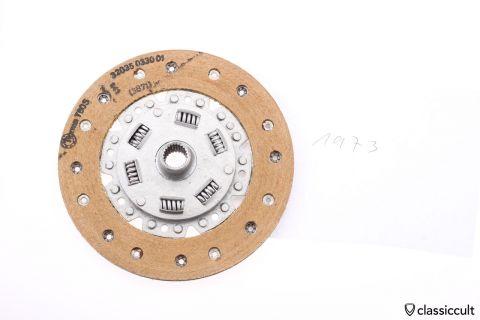 VW Sprung Clutch Disc 200mm F&S 1973