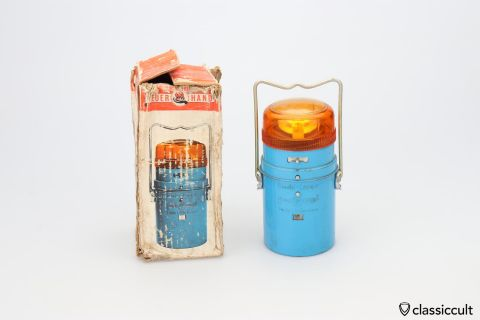 Vintage VW Combi FeuerHand trouble light