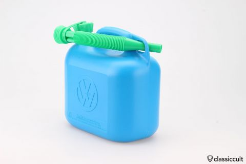VW Jerry gas can Reserve fuel canister