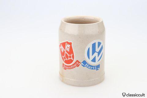 VW Dealer Hartl Regensburg beer mug