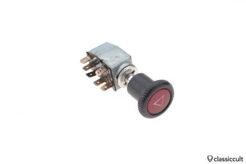 VW # 111953235F flasher switch