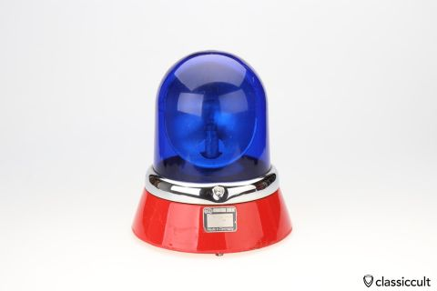 VW Hella KL8 light beacon blue lens 12V