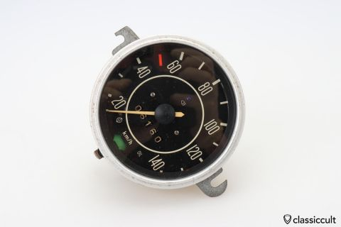 1970 VW Beetle Speedometer # 111957021L