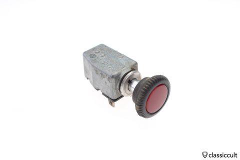 VW 111953235F Emergency flasher switch