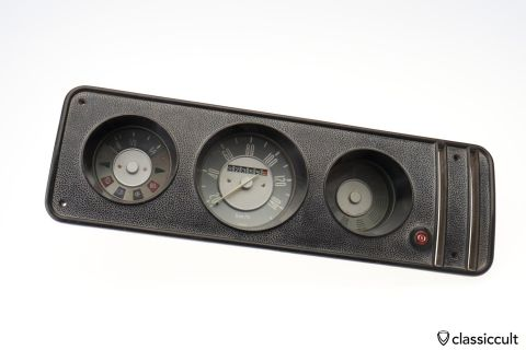 VW T2a Bus 140 km/h Speedometer 10/71