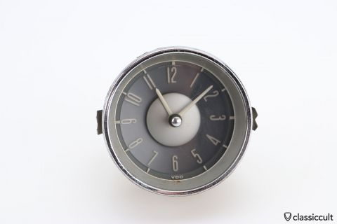 VW Type 3 VDO clock 1964 6V