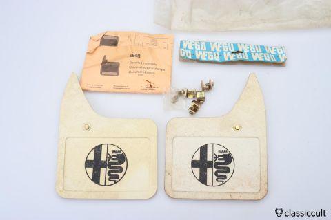 Vintage WEGU Universal mud flaps DBP NOS