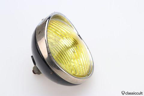 yellow Hella foglight light lamp Germany 77200